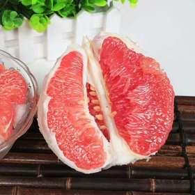【海宁购·寻美食】  福建琯溪红心柚两个装5斤包邮到家