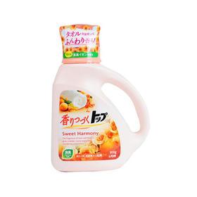 日本狮王洗衣液强效清洁花果香型 橙900g