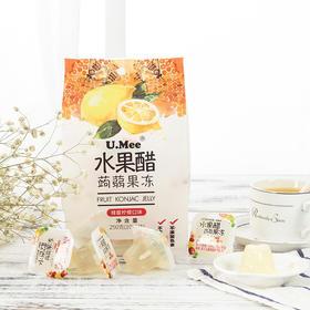 UMee水果醋蒟蒻果冻丨低卡纤维营养控热丨250g*3袋【严选X休闲零食】