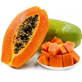 【顺丰】雷州特产树上熟冰糖木瓜时令新鲜水果夏威夷红心木瓜牛奶营养5斤包邮