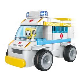 葡萄科技布鲁可系列 百变救护车(拼搭版非遥控) 61003
