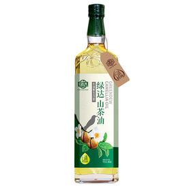 【绿达野生山茶油  冷榨一级食用油纯正茶籽油】 500ml、750ml 家庭装茶籽油 有机认证
