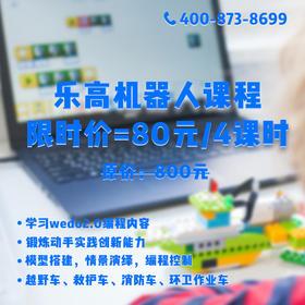 码高教育-WeDo2.0/EV3课(线下4课时)【适合6-10岁】