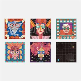 ALU 美术馆 眼镜布 系列 多款可选