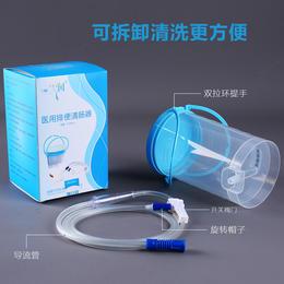 原始点姜汤灌肠桶家用 瓶式1200ML肠胃大肠清肠器 灌肠工具全套送灌肠头10根