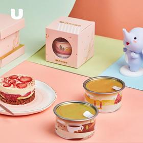 半岛优品 | AKOKO盒子蛋糕  好吃的慕斯小蛋糕3杯装