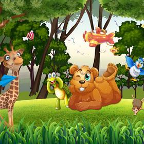 【启智空间幼托中心】邀请小朋友来参加动物王国主题派对、听绘本故事!