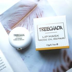 【给唇部做个SPA】泰国treechada玫瑰精油睡眠唇膜13g 保湿补水,防干裂去角质,淡化唇纹