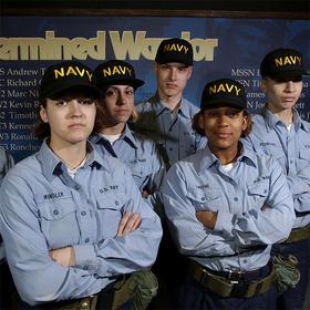 【军武独家】US NAVY海军长袖衬衫