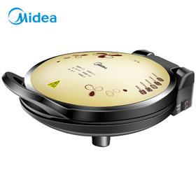 美的(Midea)JHN34Q  电饼铛 双面加热悬浮加深多功能电饼铛 家用电烙饼锅煎烤机【只支持白河本地销售】