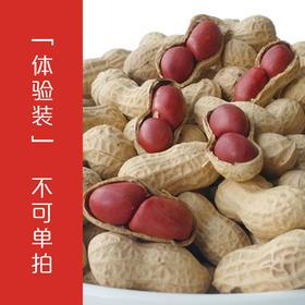 「扯豆子小花生体验装」【不可单拍】带壳农家自种红皮花生 100g