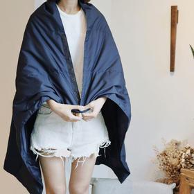 精选白鹅绒旅行毯 可以穿可以盖,方便携带 随时随地带给你温暖享受