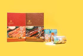 百花腊味+龙米8罐装   原价 237元,中秋价152.75元