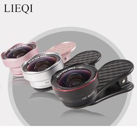 【自拍达人贾蕾推荐】IEQI猎奇  广角微距鱼眼三合一手机镜头
