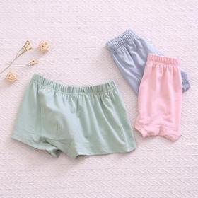 龙之涵 儿童丝光棉内裤 三条装