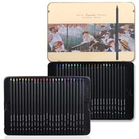 马可雷诺阿彩色铅笔(黑木)3200-36TN