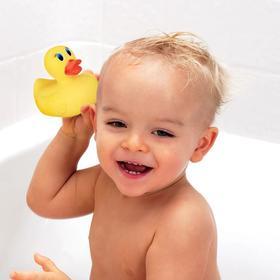 美国munchkin满趣健婴儿洗澡感温变色小黄鸭