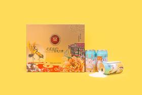 百花双式月+龙米彩色生活8罐装    原价267元,中秋价175.25元