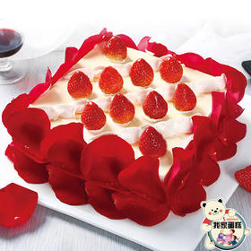 芒果玫瑰(我家蛋糕)