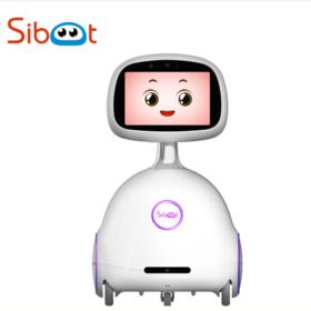 小暄 【机器人】3号4G版 智能机器人语音交互陪伴教育娱乐监控语音视频通话 白色
