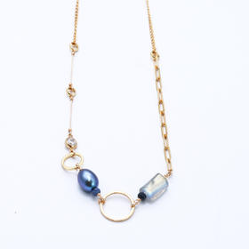 O Season  闪亮。星空(Starry Night)/ 珍珠项链