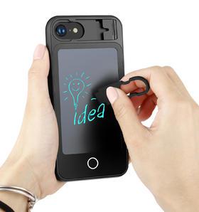 【潮人必备】创意手写板手机壳 | 涂鸦记账 | 手机支架 | 液晶屏 | 苹果手机