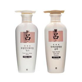【韩国直采】爱茉莉 白吕防脱止痒控油洗发水/护发素(400ml)