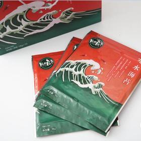 珠江农产品嘉年华丨江苏南通芝麻夹心寒水海苔 18g*10片/盒