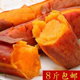 六鳌蜜薯 8斤装 单果重量500g-750g 新鲜蔬菜