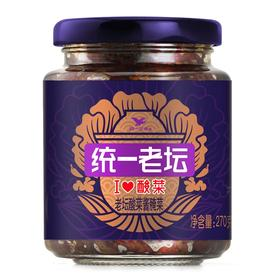 统一老坛 i love 酸菜 老坛酸菜酱腌菜 270克/瓶-812142