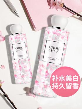韩国chokchok樱花沐浴乳