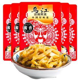 乌江涪陵酱香古坛榨菜80g*5袋 调味品下饭菜酱泡菜咸菜-812147