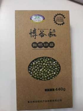 博谷稻 有机绿豆 440g