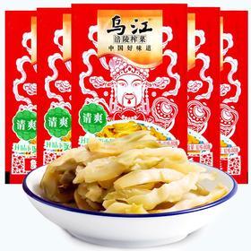 乌江 涪陵榨菜 鲜脆菜丝80g*5袋-812143