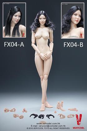 VERYCOOL 新品:1/6 亚洲女性头雕