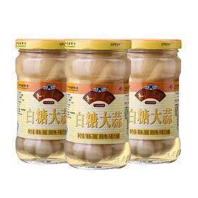 天源酱园 白糖大蒜300g×3瓶 酱菜糖蒜头甜蒜腌大蒜火锅糖蒜咸菜下饭菜-812138