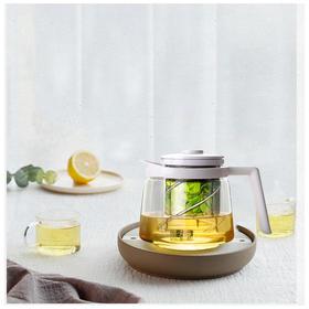 【简约泡茶壶 耐高温玻璃】分分钟喝好茶 700ml 省去泡茶的繁琐程序 支持电陶炉
