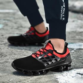 【弹力缓震二代】结构释能缓震跑鞋