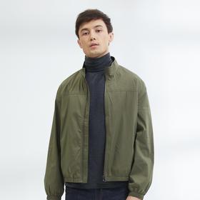 【都市轻商务系列】美式质感商务抽绳立领夹克