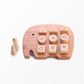 墨小小丨大象岛几何形状配对认知玩具
