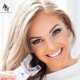 美国AEY Luxe White美牙仪 牙齿美白 去黄牙渍  冷光美白仪 凝胶正品