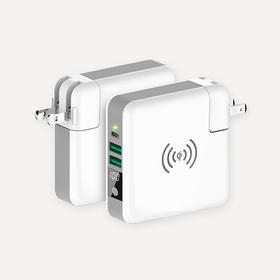 三合一智能充,充电宝+充电器+无线充