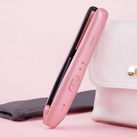 「无线便携式」负离子卷发直发夹板 全身可水洗 双档温控设置