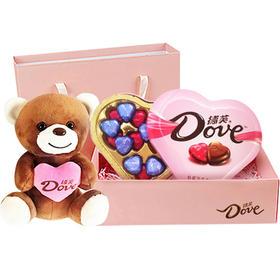 德芙Dove巧克力礼盒 一心一意巧克力礼盒 情人节教师节巧克力礼盒生日礼物礼盒送女友送男友-812176
