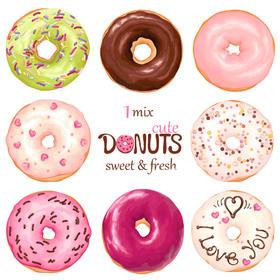 花漾甜甜圈,回味初恋的感觉,甜到心里去!