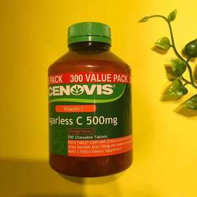 澳洲cenovis无糖维生素c咀嚼片