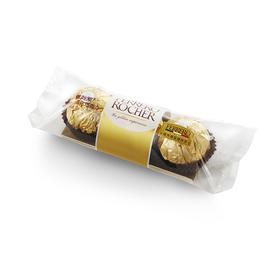 费列罗(Ferrero Rocher)费列罗拉斐尔榛果威化巧克力 送女友生日礼物 婚庆喜糖果巧克力 费列罗榛果威化巧克力3颗-812189