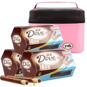德芙Dove巧克力巧丝威化夹心巧克力棒54支装 糖果巧克力休闲零食奥地利进口巧克力棒-812178