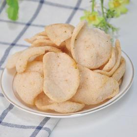 佰食优沣味虾酥薯片丨脆香美味易乐享 |80g/袋*3 包邮【严选X休闲零食】