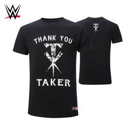 WWE 葬爷 送葬者 UNDERTAKER 纪念款正品短袖T恤